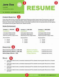 resume examples that stand out resume template With resume headers that stand out