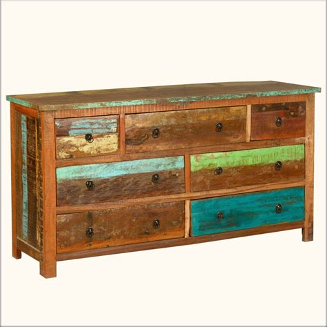 distressed dresser good distressed dresser on dressers chests distressed rustic reclaimed wood 7 drawer dresser