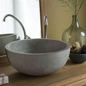 Grande Vasque À Poser : vasque poser grande largeur double vasque meuble salle de bain pas cher salle de bain ~ Melissatoandfro.com Idées de Décoration