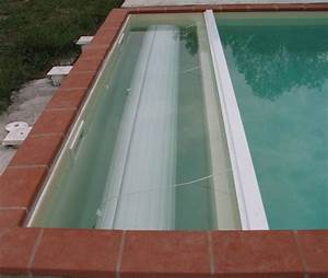 volet roulant piscine sur rail prix With prix volet roulant immerge pour piscine