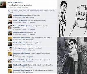 Facebook Memes: R.I.P ENGLISH