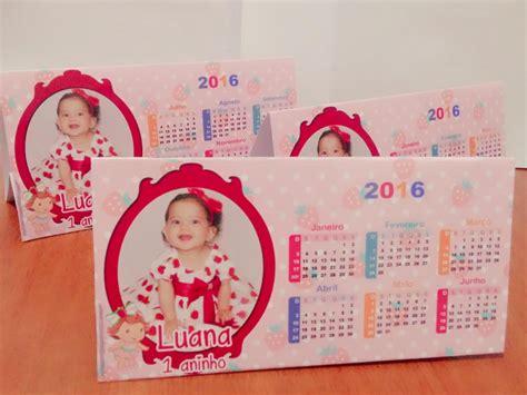 calendario mesa personalizado lembrancinha aniversario em