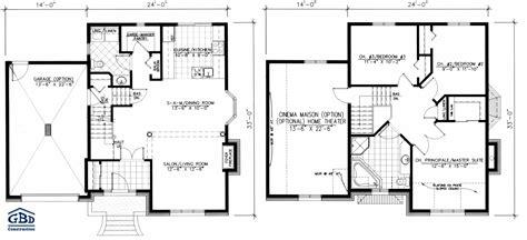 plan maison etage 2 chambres plan maison 2 etages bricolage maison