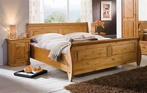 Doppelbett Mit Bettkasten : massivholz doppelbett bett holzbett nachtisch kiefer massiv holz honig ~ Pilothousefishingboats.com Haus und Dekorationen