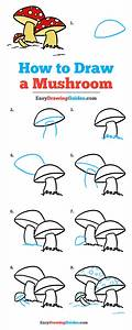 How to Draw a Mushroom - Really Easy Drawing Tutorial