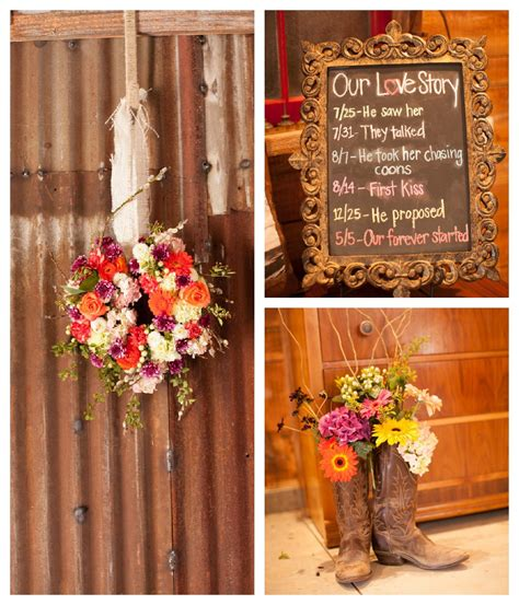 Country Wedding Decorations by Vintage Inspired Barn Wedding Maddi Part I