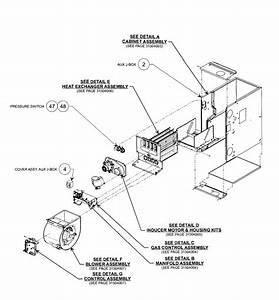 Carrier Model 58cva090 Heater  Gas Genuine