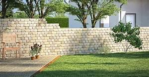 Sichtschutz Mauer Naturstein : mauer bauen garten ne77 hitoiro ~ Michelbontemps.com Haus und Dekorationen