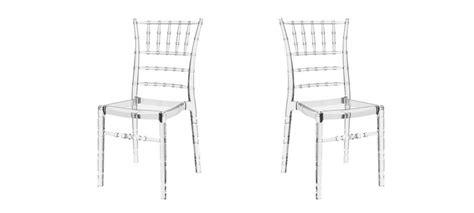 chaise napoleon transparente chaise transparente en polycarbonate transparent à prix