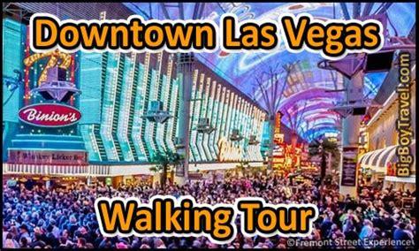 downtown las vegas walking  map fremont street