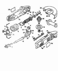Dewalt Model Dw400 Grinder Angle Genuine Parts