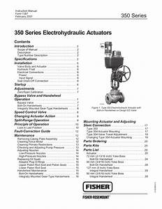 350 Actuator Instruction Manual By Rmc Process Controls