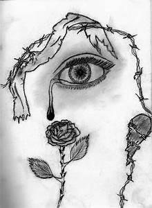 Tumblr Drawing Eyes Crying   www.imgkid.com - The Image ...