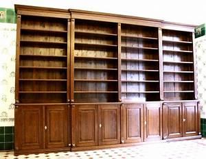 Regalwand Mit Türen : regalwand mit t ren und leiter erle massiv 270x400x45cm ~ A.2002-acura-tl-radio.info Haus und Dekorationen