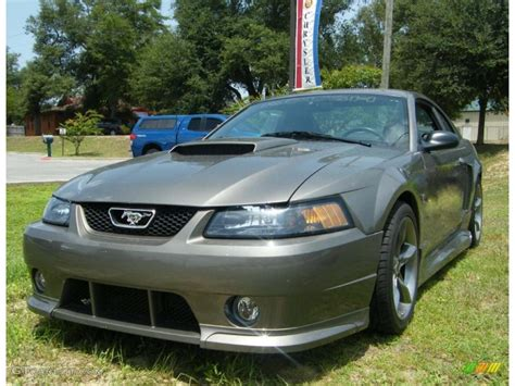 mineral grey metallic ford mustang gt coupe