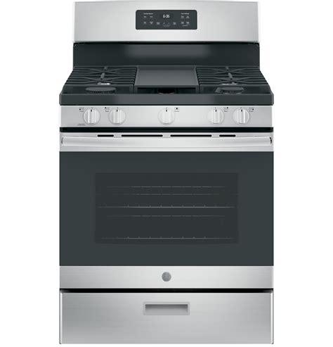 ge 174 30 quot free standing gas range jgbs66rekss ge appliances