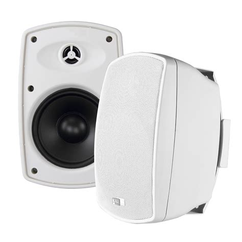 Outdoor Speaker Cabinet by Osd Audio Ap525 Outdoor Patio Speakers