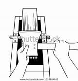 Ax Executioner Coloring Grindstone Sharpening Sharpen Vector Illustration Clipart Hands Isolated Cartoon Vectors Background Imitation Comic Royalty Raster Shutterstock Fotosearch sketch template