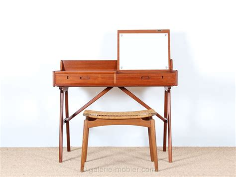 bureau coiffeuse bureau coiffeuse scandinave en teck galerie møbler