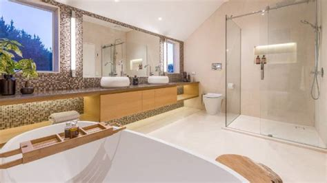 small contemporary house designs it 39 s back to nature for bathroom design trends in 2018