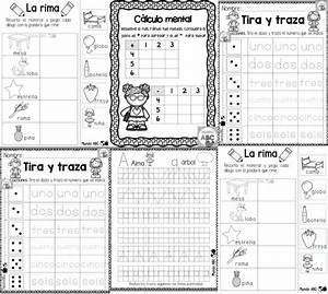 Excelentes actividades de la rima, cálculo mental, tira y traza para preescolar, primer y
