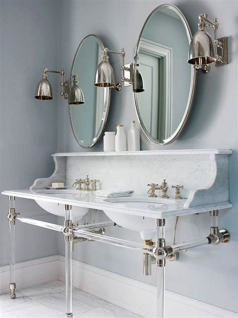 Fashioned Bathroom Mirrors by Fashioned A Unique Wall Mount Marble Vanity
