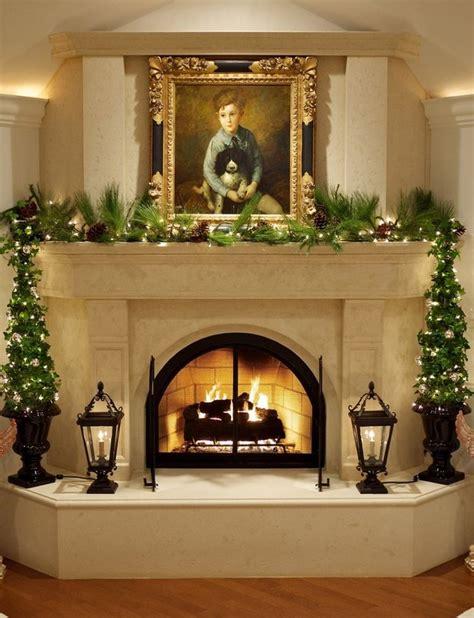 christmas mantels images  pinterest