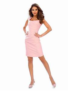 robe fourreau elegante sans manches encolure carree helline With robe encolure carrée