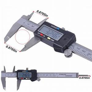 6 U0026quot  Stainless Electronic Lcd Digital Vernier Caliper