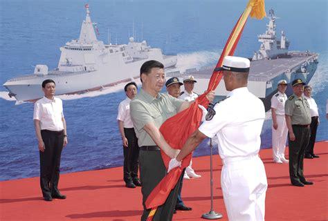 Par godu Ķīnas Jūras spēku gadadienai bruņojumā tiek ...