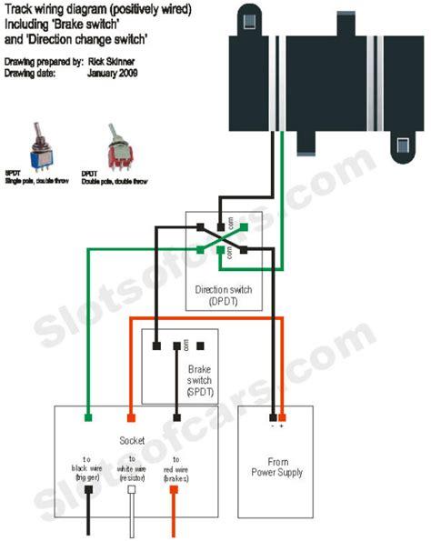 Slot Car Track Wiring Diagram by Slotforum Gt Dom S