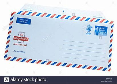 Mail Letter Airmail Royal Unused Alamy Email