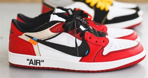 Off White X Air Jordan 1 Chicago Gets A Low Top Makeover