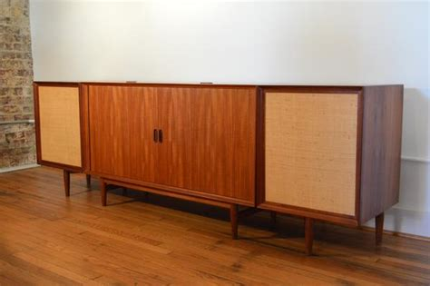 Mid South Cabinets Richmond Va by Arne Vodder For Sibast Teak Stereo Console With