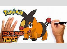 How to Draw Tepig Pokemon YouTube