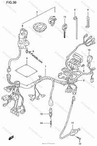 Suzuki Motorcycle 1999 Oem Parts Diagram For Wiring Harness  Gsf1200sv  Sw  Sx  Sy
