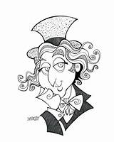 Chocolate Factory Coloring Charlie Wonka Willy Drawing Printable Ticket Clipart Clipartmag Drawings Getcolorings Tickets Getdrawings sketch template