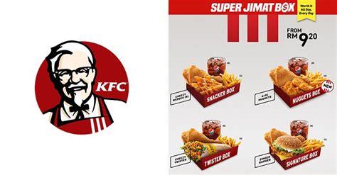 kfc super jimat box start  rm
