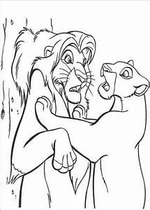 Kleurplaat Leeuwenkoning Kleurplaten Lion King Of De
