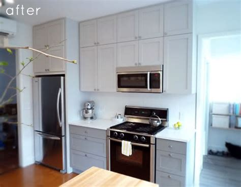 scherrs custom cabinets in dakota before after clean simple kitchen redo design sponge