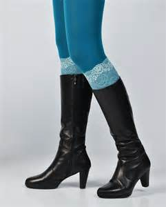 womens boot socks australia lace boot cuff womens boot socks turquoise lace by wagtailwhite
