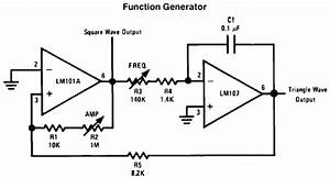 mixers and oscillators With triangle squarewave generator