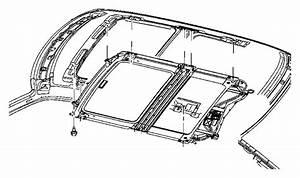 2005 Jeep Grand Cherokee Frame  Sunroof  Trim   All Trim