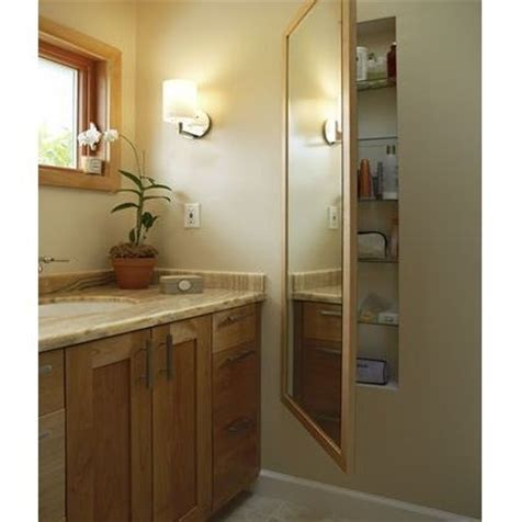 bathroom mirrors with storage ideas length mirror on a recessed medicine cabinet