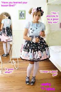 makeup schools chicago stood before in the sissy girl clothes she had forced