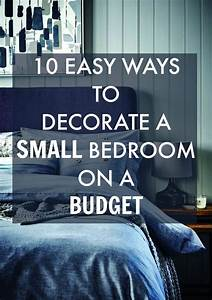10, Easy, Ways, To, Decorate, A, Small, Bedroom, On, A, Budget