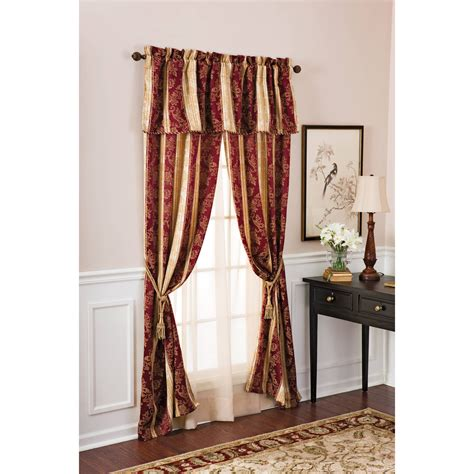 better homes and gardens curtains new better homes and gardens osaka window panel curtain set burgundy 58 x84 ebay