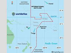 International Date Line Map and Explanation