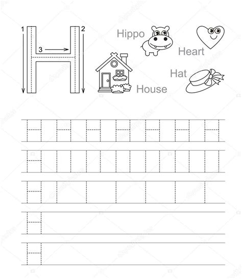 letter  tracing worksheets letter  learn handwriting