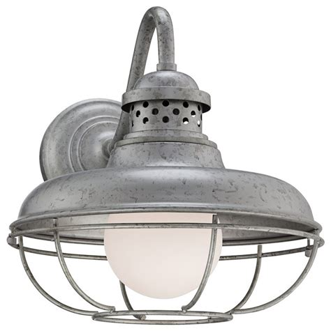 franklin park metal cage quot high steel outdoor wall light